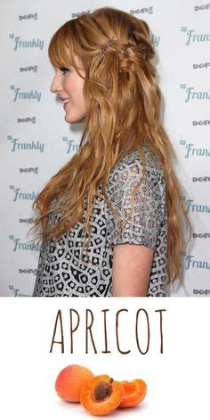 golden apricot hair color 1000 images about long cuts styles on pinterest bangs