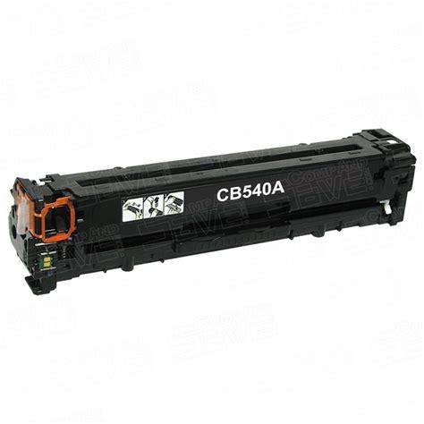 Hp 125a Black Laserjet Toner Cartridge Cb540a Original replacement hewlett packard hp 125a cb540a black laser toner cartridge