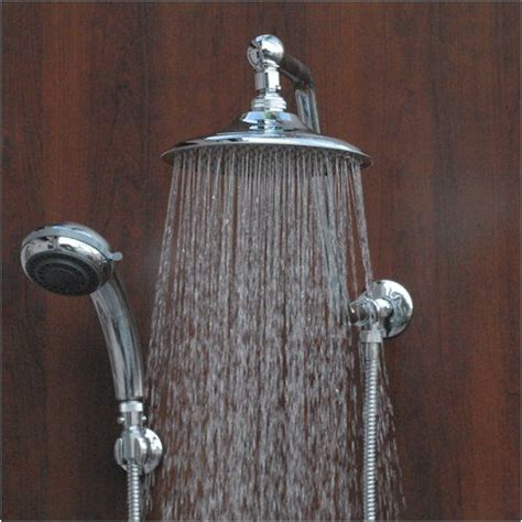 Bathroom Shower Heads Handheld Atlantis 6 Chrome Shower To Handheld Shower Reviews To Be Shower And Atlantis