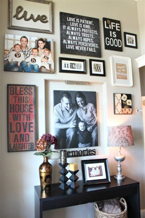 entryway wall art ideas 40 creative frame decoration ideas for your house page 2