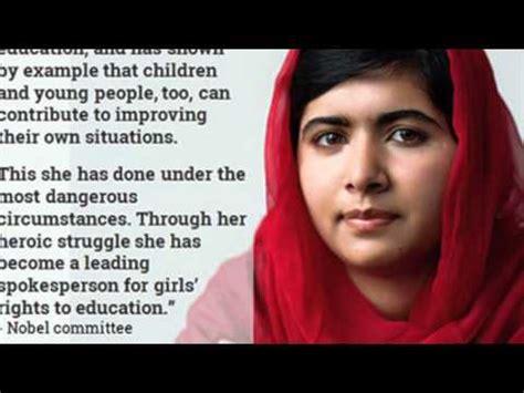 malala yousafzai short biography in english the story of malala yousafzai detailed timeline doovi
