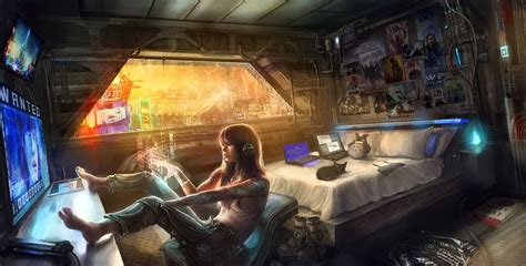 cyberpunk for the home pinterest cyberpunk nest and girl in a cyberworld xpost r wallpaper cyberpunk sci