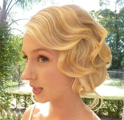 how to do vintage hairstyles for short hair vintage wedding hairstyles for short hair beauty and fashion