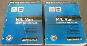 auto repair manual online 1996 gmc safari engine control 1996 chevrolet gmc service manual p32 p42 chassis motor home commercial