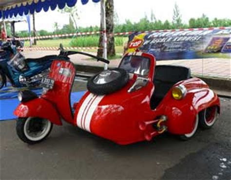 Modifikasi Vespa Sespan by Vespa Antik Maret 2012