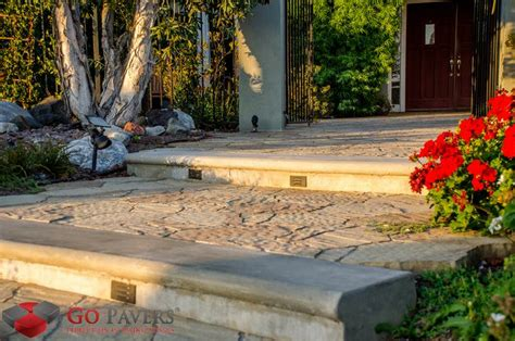 get the best pavers planters steps installation go pavers