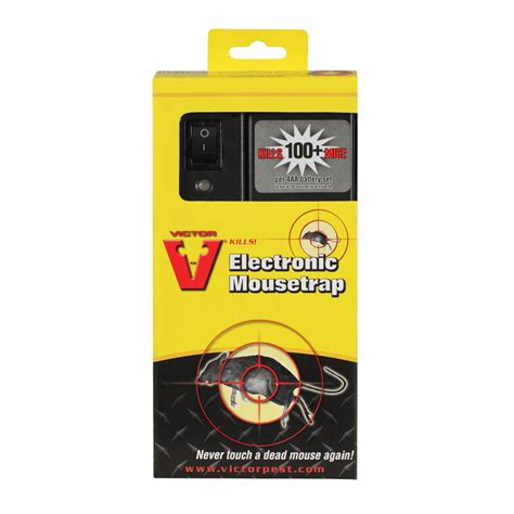 victor pest m2524s electronic mouse trap 163 28 95