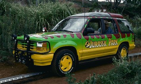 jurassic park car movie tour vehicles park pedia jurassic park dinosaurs