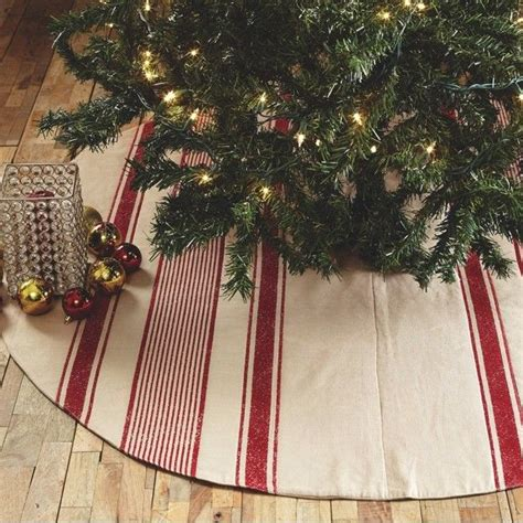 17 best ideas about farmhouse christmas tree skirts on