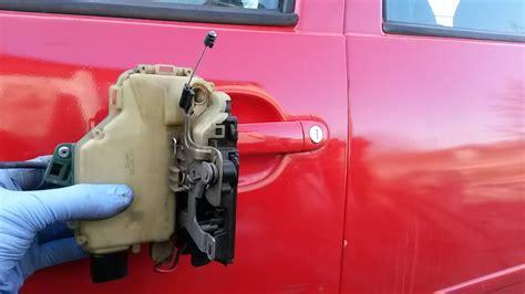 Golf Auto Lock by How To Remove Door Lock Module Vw Golf Mk4 Jetta Bora In
