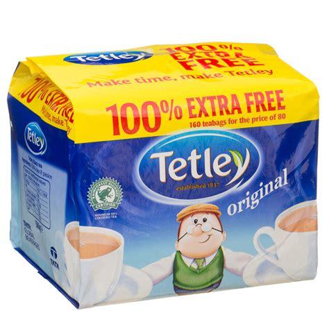 tetley tea bags original 80 80s tea teabags groceries