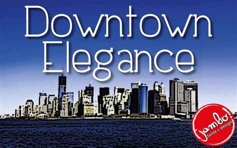 dafont jambo downtown elegance schriftart dafont com