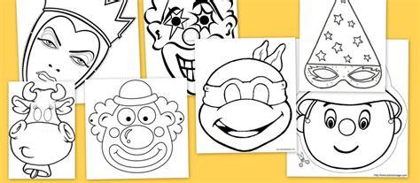 dibujos en foami para el aula caretas de carnaval para colorear escuela en la nube