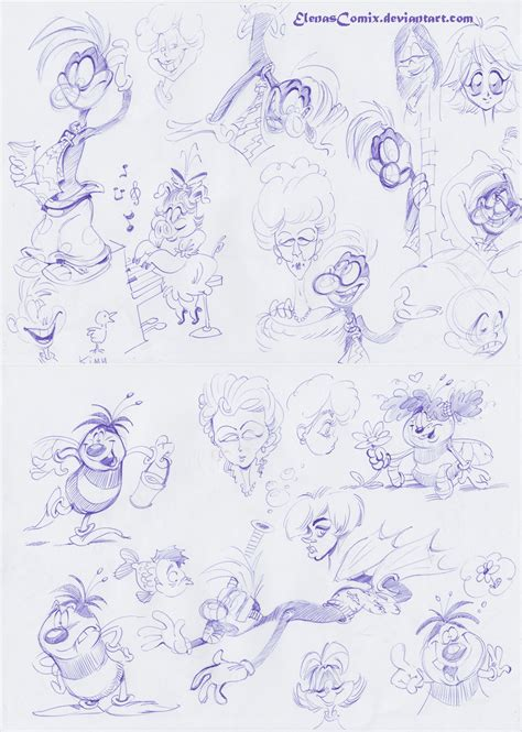 Ballpoint Pen Doodles By Ixentrick On Deviantart