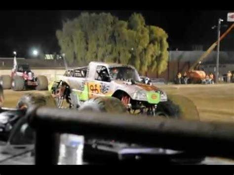 monster truck show santa maria detour monster truck freestyle rosalee ramer youtube