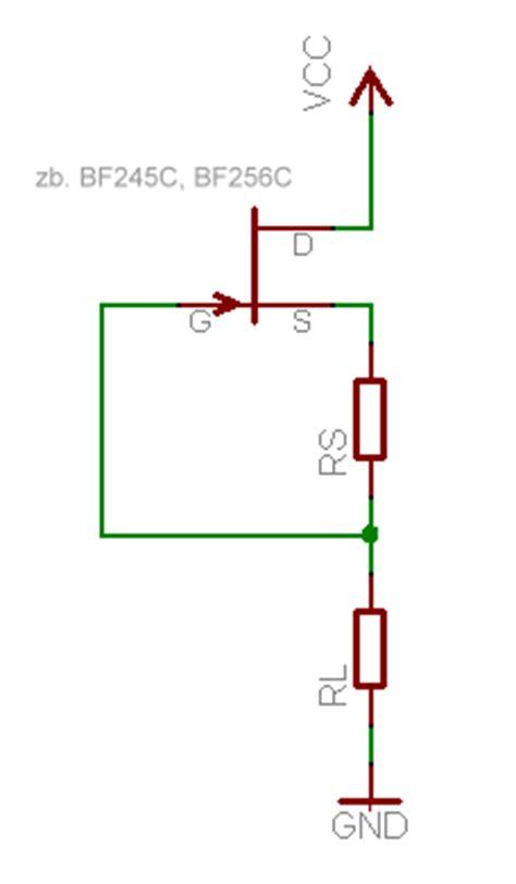 transistor durch fet ersetzen konstantstromquelle mikrocontroller net