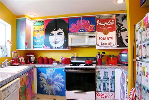 Decoupage Posters - hometalk decoupage kitchen cabinets with andy warhol posters