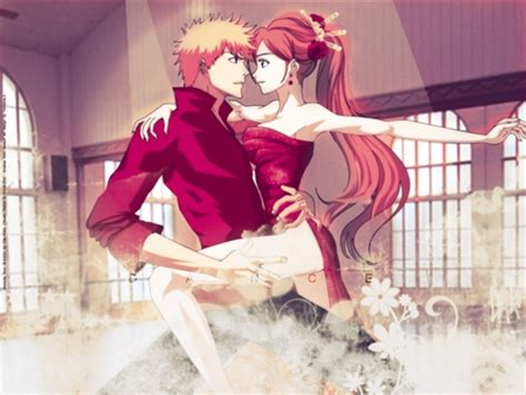 dancing anime girl live wallpaper bleach couples images ichihime dancing wallpaper and