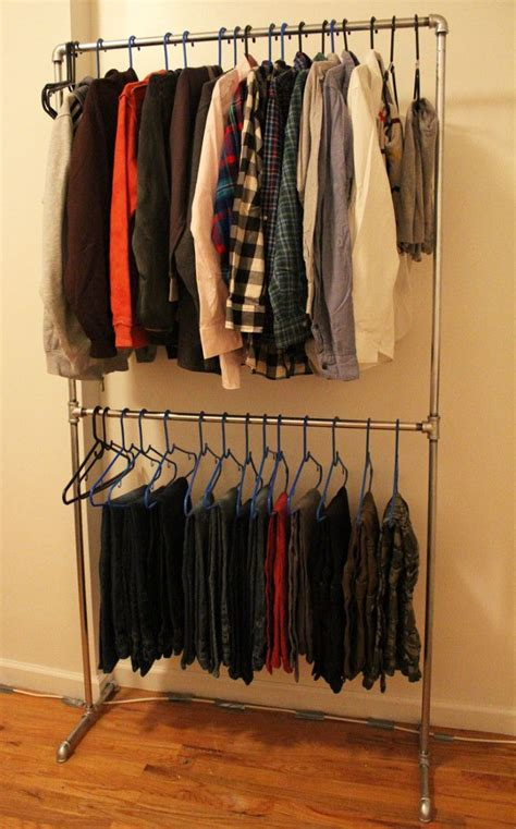 diy pipe clothing rack random clothing
