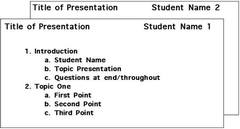 speech note card template presentation outline speech note cards