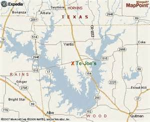 map of lake fork lake fork lodging tejon s bass and duck lodge