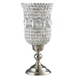 Silver Candle Holders Elegance Silver 72893 15 Quot Sparkle Hurricane Pillar Taper