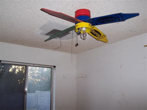 Crayola Ceiling Fan by Girlshopes