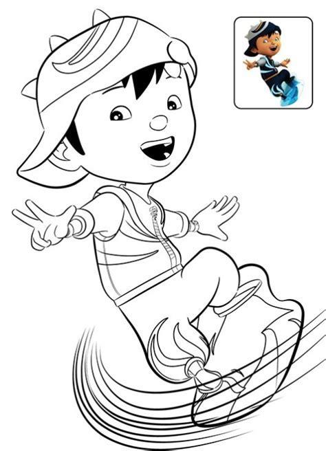 Boboiboy Coloring Page Printabe