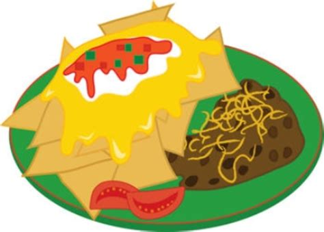 Plate Of Food Clipart plate of food clip free images at clker vector