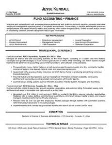 Finance Administrator Sle Resume by Hedge Fund Accounting Resume Sales Accountant Lewesmr