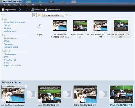 tutorial movie maker untuk pemula trik cara mudah membuat video youtube slide show dengan