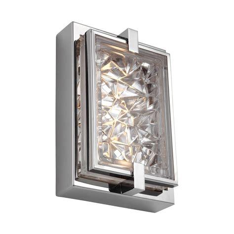 bathroom light wattage feiss cook 20 watt satin nickel integrated led bath light wb1830sn led the home depot