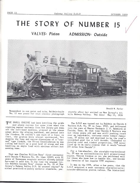 the story of the railroading magazine