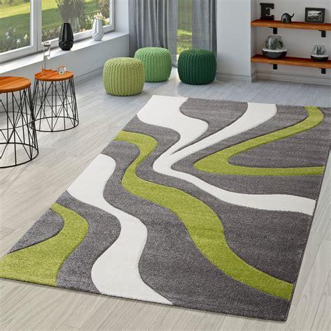 teppich grau modern teppich grau gr 252 n wei 223 wohnzimmer teppiche modern mit