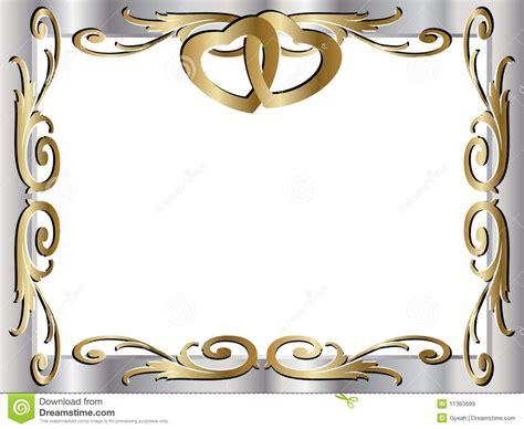 Wedding Anniversary Borders by Invitaciones De Boda 50 Aniversario Para Mandar Por