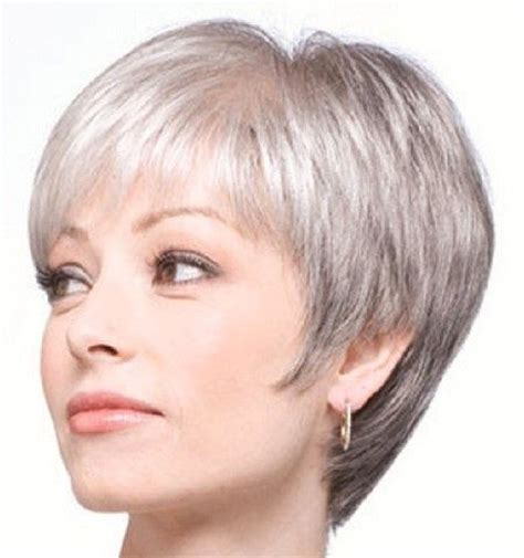 back views of gray hair styles pretty grey pixie cut hair beauty pinterest