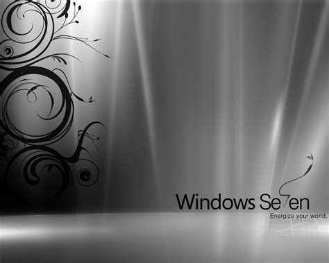 windows 7 black white wallpapers hd wallpapers id 7165