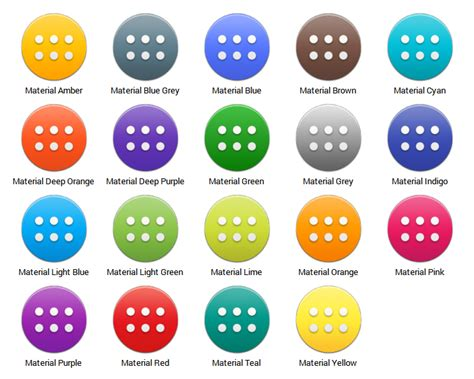 Drawer App by Png Material Colored App Drawer Icons Android