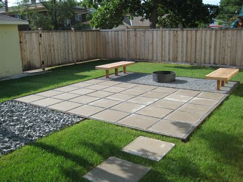 paver patios  add dimension  flair   yard