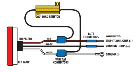 how does a resistor and led and a pcb work together 1 pair of led ultra bright white lights universal