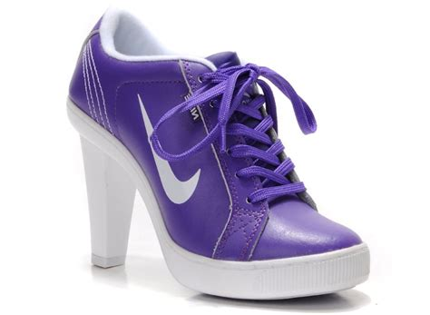 sneakers high heels nike heels sneakers for purple white 783991