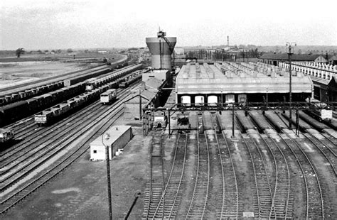 Sheds Peterborough by New Locomotive Shed 1967 Peterboroughimages Co Uk