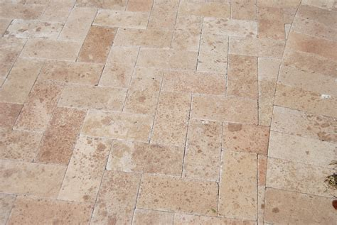 Travertine Patio Pavers Cabot Travertine Pavers Turkish Series Noche Dalmatian Tumbled 6 Quot X12 Quot X1 1 4 Quot