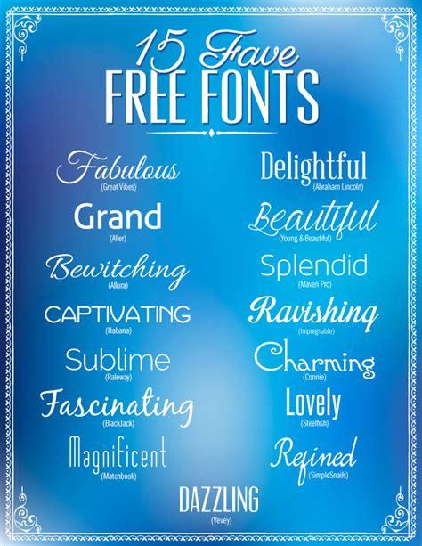 dafont ipad 15 favorite free fonts dabbles babbles