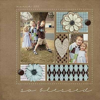 simple scrapbook layout designs so blessed scrapbook layouts pinterest