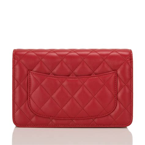 Chanel Classic Quilted Woc by Chanel Classic Quilted Lambskin Wallet On Chain Woc