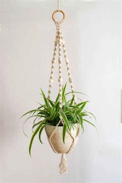 How To Make Macrame Plant Hangers - handmade and beautiful macrame plant hanger this plant