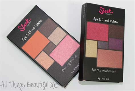 Sleek Eye Cheek Palette In See You At Midnight sleek eye cheek palettes in til dusk see you at midnight swatches review