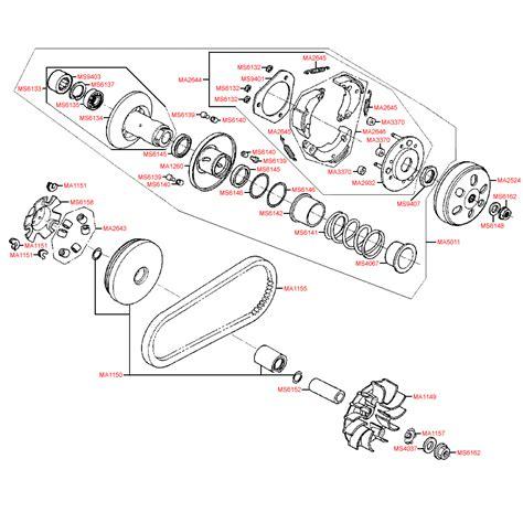 Carburator Assy Vario e05 variator assy scooter parts racing planet uk