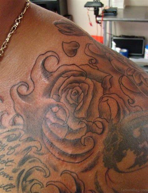 rose shoulder tattoo designs 57 pleasant black designs